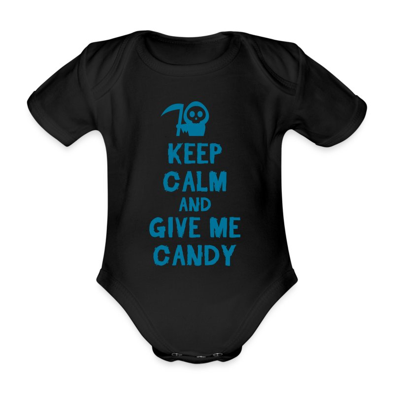 Baby boy Halloween onesie  - Organic Short-sleeved Baby Bodysuit