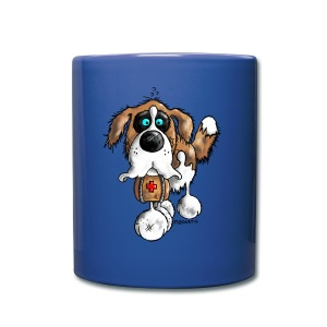 Saint-Bernard Barry Fun - Tasse en couleur