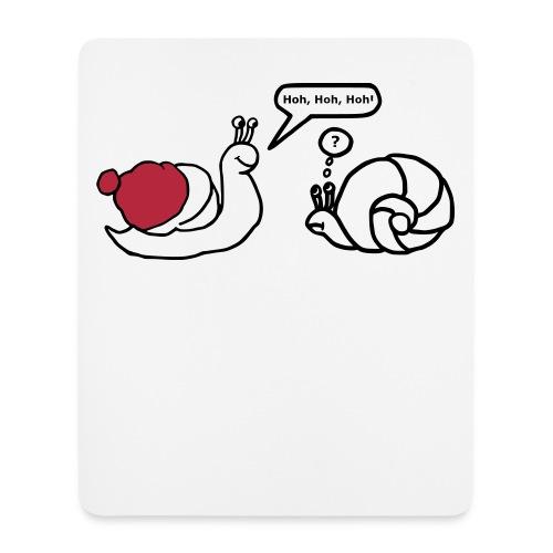Weihnachtsschnecken - Mousepad (Hochformat)