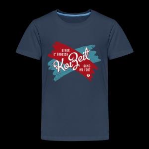 Koi Zeit - Kender - Kinder Premium T-Shirt