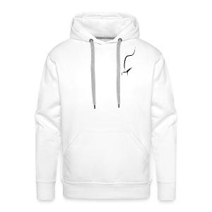 Pfeife Pfeifenrauch - Männer Premium Hoodie