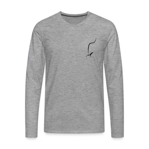Pfeife Pfeifenrauch - Männer Premium Langarmshirt