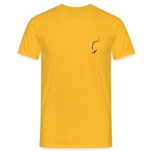 Pfeife Pfeifenrauch - Männer T-Shirt