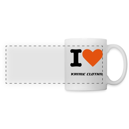 I LOVE KRIME CLOTHING MUG! - Panoramic Mug