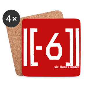 Sous bock Red Logo  - Coasters (set of 4)