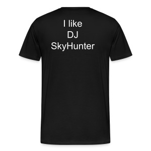 DJ SkyHunter Support Men T-Shirt - Männer Premium T-Shirt