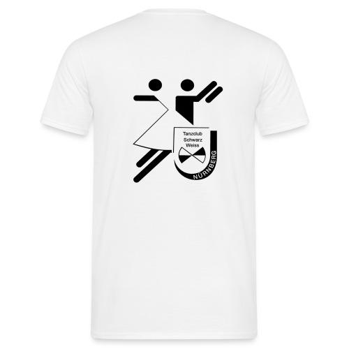 Herren T-Shirt Weiss - Männer T-Shirt