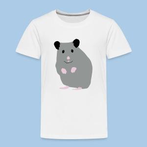 Lasten t-paita lk sinisellä syyrianhamsterilla - Lasten premium t-paita
