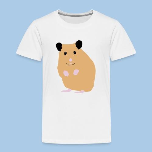 Lasten t-paita lk creme syyrianhamsterilla - Lasten premium t-paita