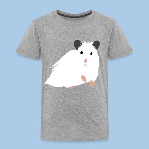 Lasten t-paita pk valkoisella syyrianhamsterilla - Lasten premium t-paita