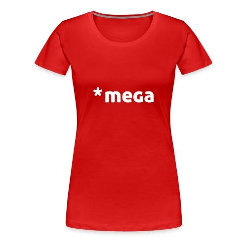 * mega (dh) Frauen Premium Shirt - Frauen Premium T-Shirt