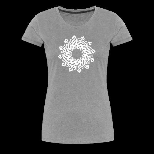 Mandala SO HAM  - Frauen Premium T-Shirt
