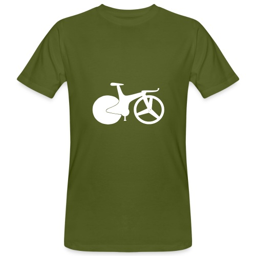 Organic 1990s track bike t-shirt - Men's Organic T-Shirt
