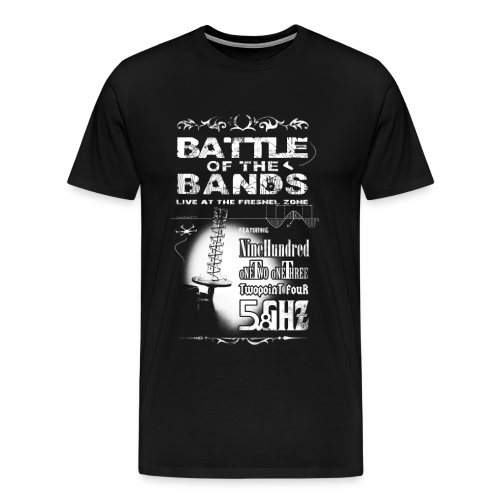 Battle of the Bands Blanco - Men's Premium T-Shirt