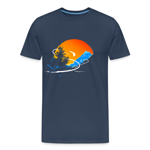 Surfs Up! - Men's Premium T-Shirt