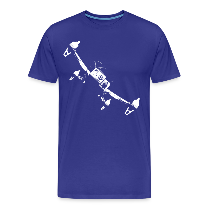 Quadcopter Flyby - Men's Premium T-Shirt
