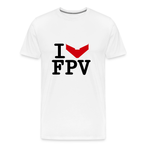 I Love FPV - Men's Premium T-Shirt