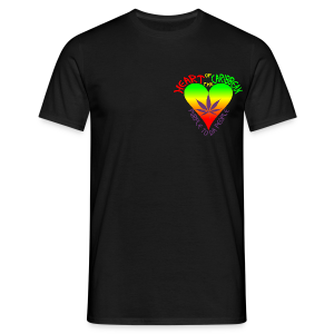 HEART OF THE CARIBBEAN (B&F) - Men's T-Shirt