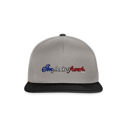 I'm fuckin' french. Snapback - Snapback Cap