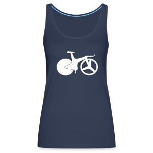 track bike vest top 1990 style - Women's Premium Tank Top