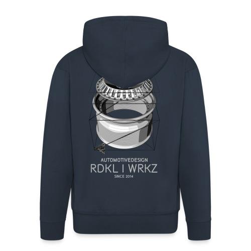 RadikalWerkz Wheel Porn Kapuzenjacke - Männer Premium Kapuzenjacke