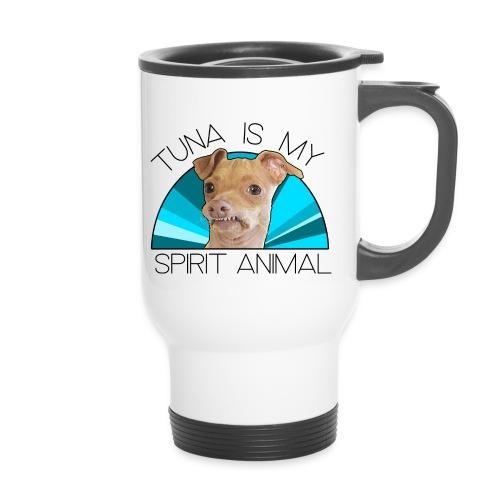 Tuna is my Spirit Animal Travel Mug (blue) - Travel Mug