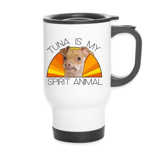 Tuna is my Spirit Animal Travel Mug (orange) - Travel Mug