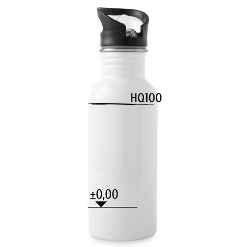 Hoch | Wasser | Schutz - Trinkflasche