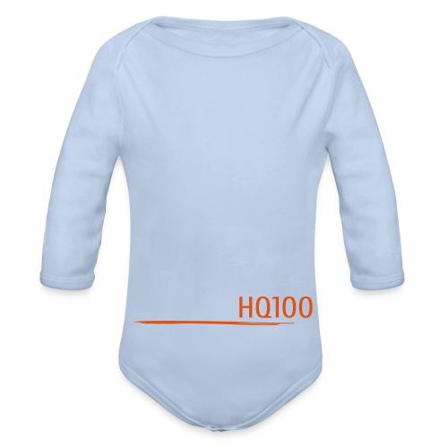 hoch | wasser - Baby Bio-Langarm-Body