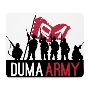 DumaArmy Official Mouse Mat - Mouse Pad (horizontal)