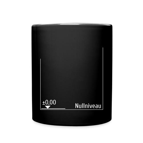 null | niveau - Tasse einfarbig