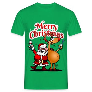Merry Christmas Santa - Men's T-Shirt