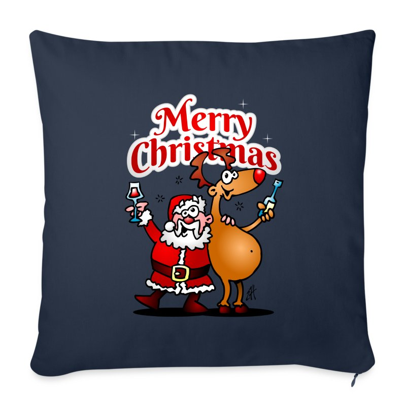 Merry Christmas Santa - Sofa pillow cover 44 x 44 cm