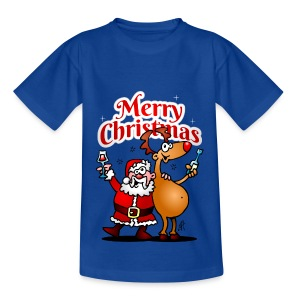 Merry Christmas Santa - Kids' T-Shirt