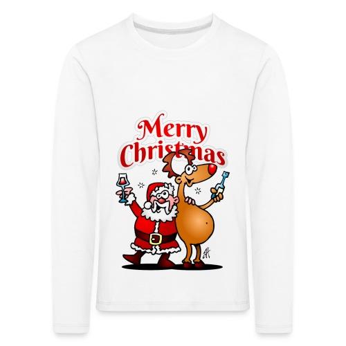 Merry Christmas Santa - Kids' Premium Longsleeve Shirt