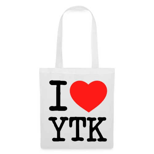 I heart YTK Jutebeutel - Stoffbeutel