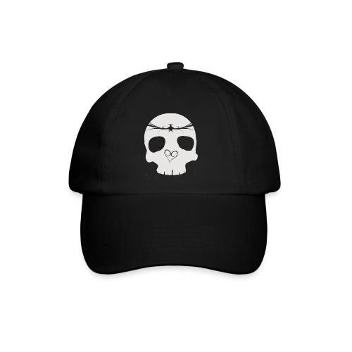 Cap - Skull grey - Baseballkasket