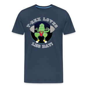 Men's T-Rex T-Shirt - Men's Premium T-Shirt