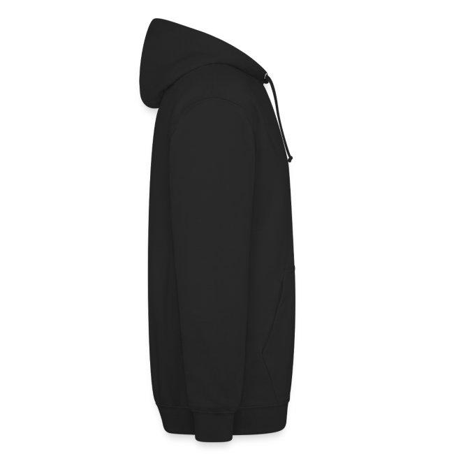 CM-1 Logo unisex hoodie black/red