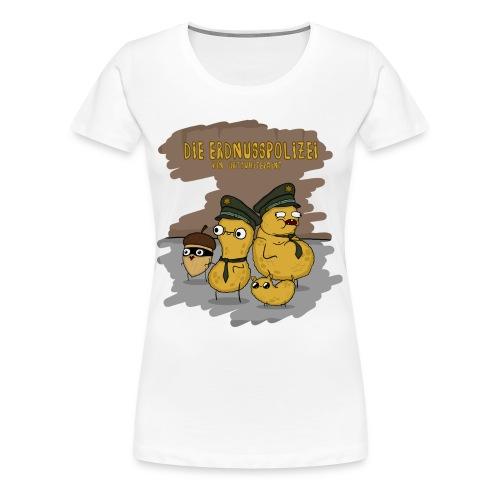 Erdnusspolizei - Girls - Frauen Premium T-Shirt