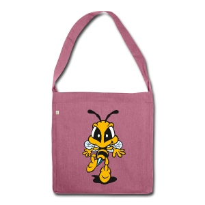 Tip Toe Bee - Shoulder Bag made from recycled material