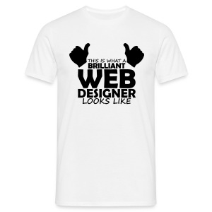 brilliant web designer T-Shirts - Men's T-Shirt
