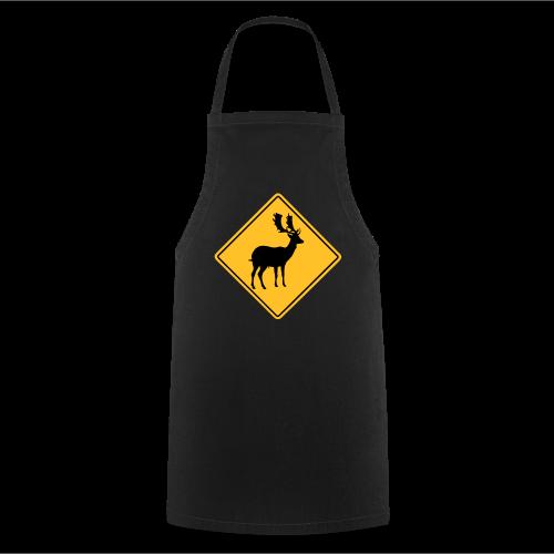 Achtung Hirsch - Kochschürze