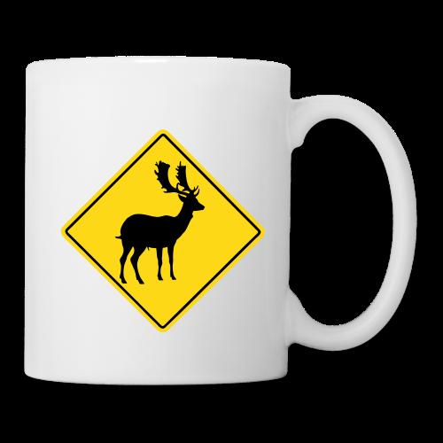 Achtung Hirsch - Tasse