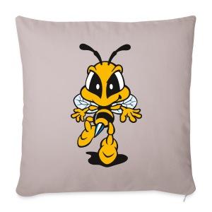 Tip Toe Bee - Sofa pillow cover 44 x 44 cm