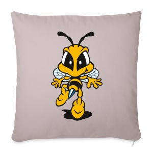 Tip Toe Bee - Sofa pillow cover 44 x 44 cm