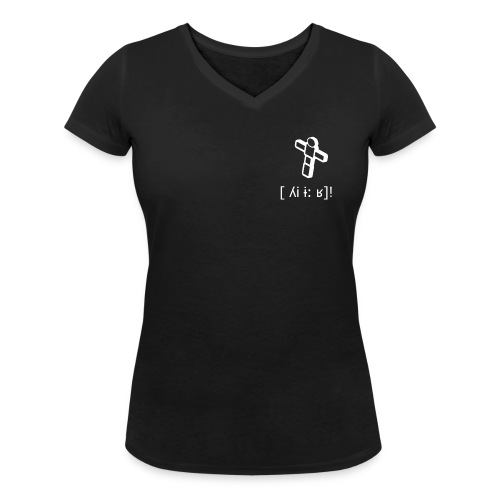 Frauen Bio-T-Shirt mit V-Ausschnitt von Stanley & Stella