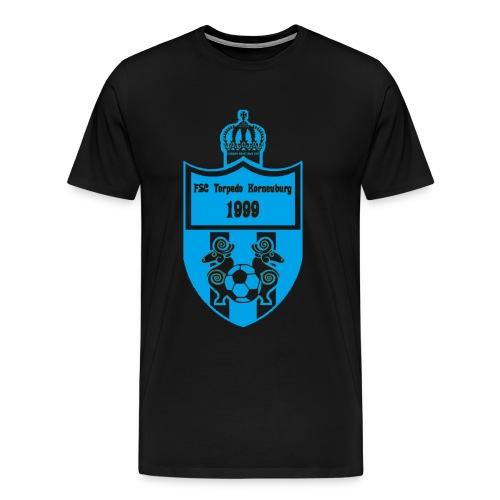 T-Shirt Torpedo Wappen blau - Männer Premium T-Shirt