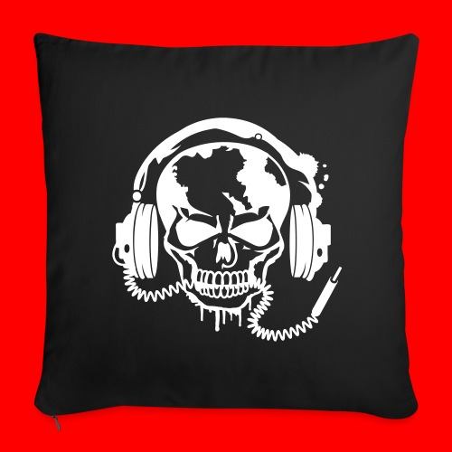 Double Sided Skull Cushion Cover  - Sofa pillow cover 44 x 44 cm