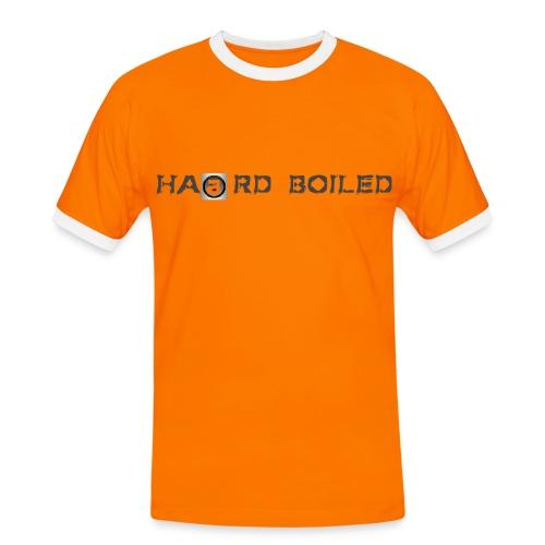 T-Shirt orange - Männer Kontrast-T-Shirt